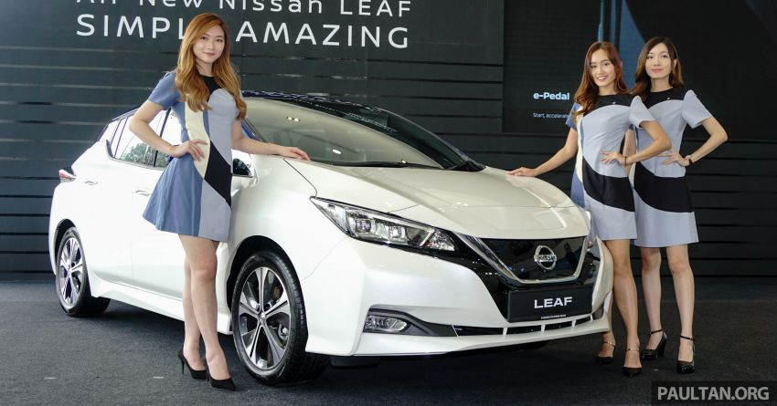 2019 Nissan Leaf launched in Malaysia – from RM189k Image #991191