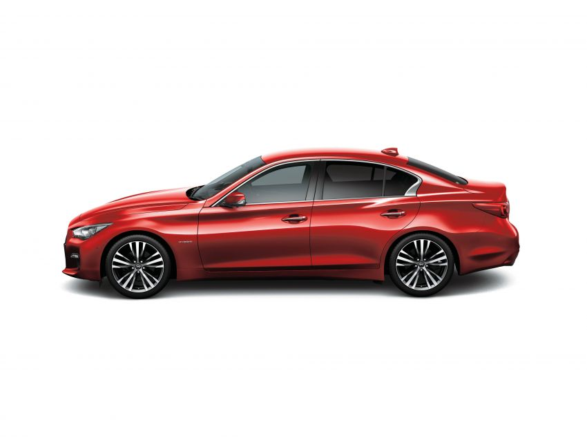2019 Nissan Skyline facelift debuts in Japan – ProPilot 2.0; GT-R-inspired styling; up to 405 PS twin-turbo V6 Image #986048