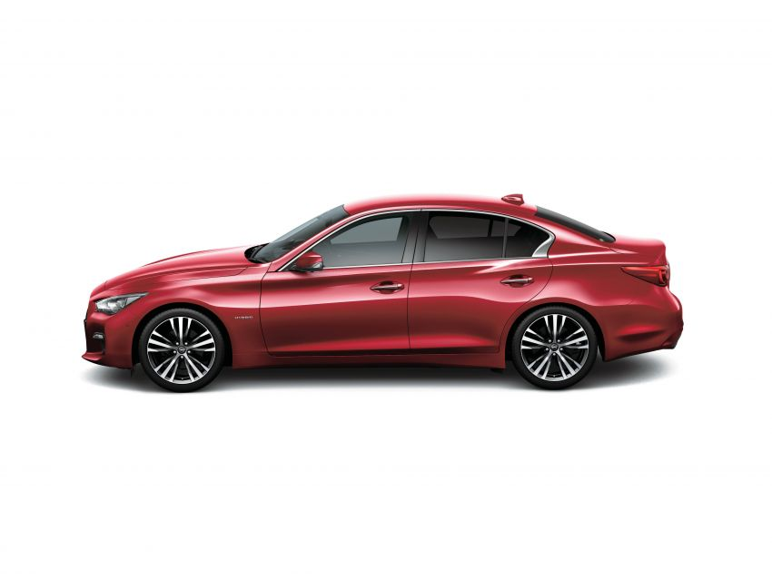 2019 Nissan Skyline facelift debuts in Japan – ProPilot 2.0; GT-R-inspired styling; up to 405 PS twin-turbo V6 Image #986049
