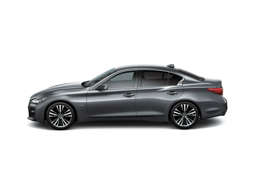 2019 Nissan Skyline facelift debuts in Japan – ProPilot 2.0; GT-R-inspired styling; up to 405 PS twin-turbo V6 Image #986050