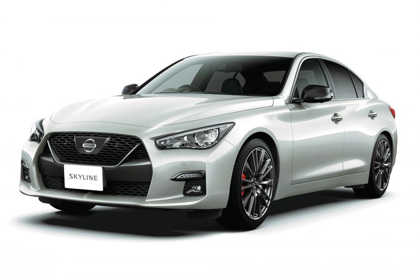 2019 Nissan Skyline facelift debuts in Japan – ProPilot 2.0; GT-R-inspired styling; up to 405 PS twin-turbo V6 Image #986036