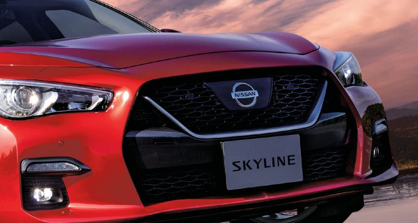 2019 Nissan Skyline facelift debuts in Japan – ProPilot 2.0; GT-R-inspired styling; up to 405 PS twin-turbo V6 Image #986073