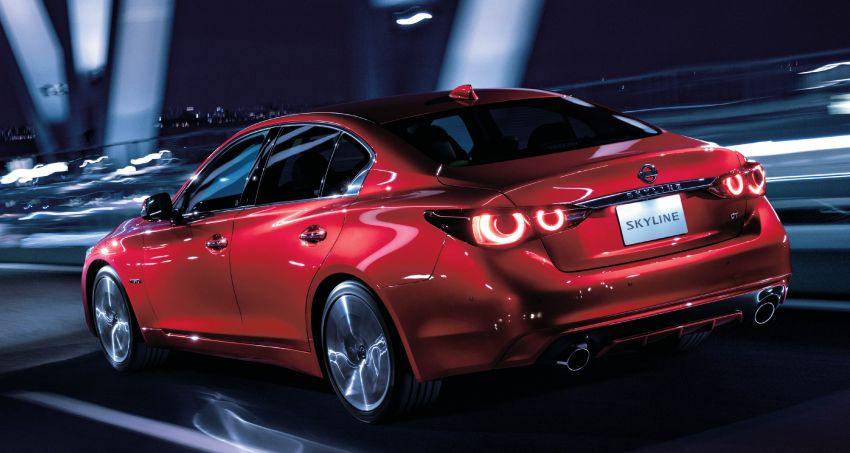 2019 Nissan Skyline facelift debuts in Japan – ProPilot 2.0; GT-R-inspired styling; up to 405 PS twin-turbo V6 Image #986074