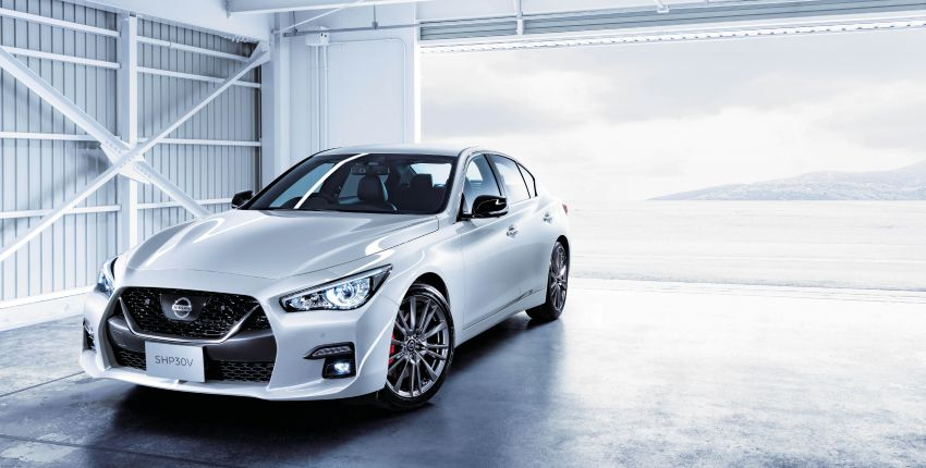 2019 Nissan Skyline facelift debuts in Japan – ProPilot 2.0; GT-R-inspired styling; up to 405 PS twin-turbo V6 Image #986077