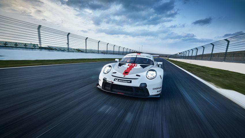 Porsche 911 RSR revised for 2019 – mid-engined GTE race car to defend WEC titles, debuts at Goodwood Image #982994