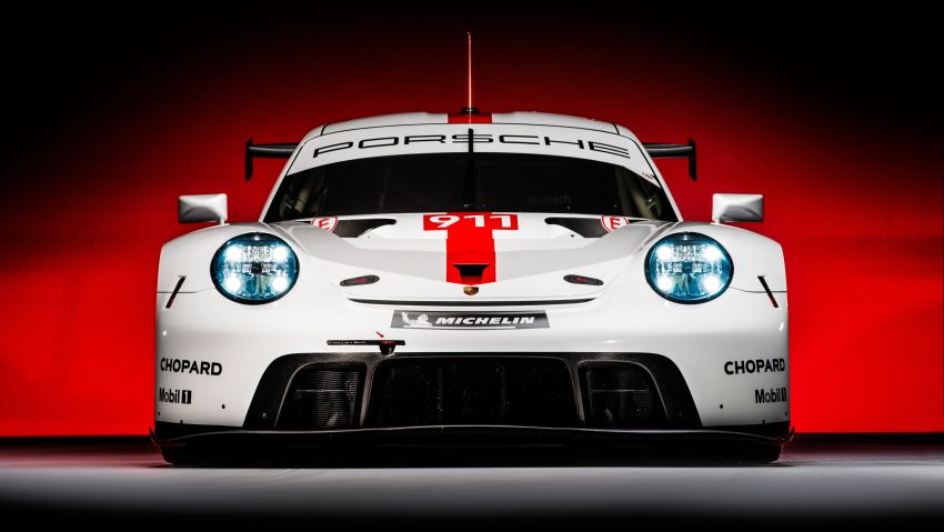Porsche 911 RSR revised for 2019 – mid-engined GTE race car to defend WEC titles, debuts at Goodwood Image #983007