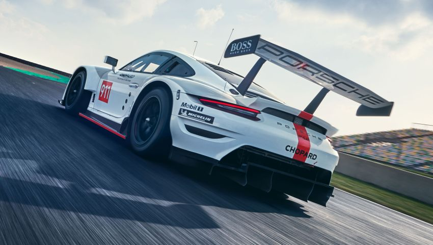 Porsche 911 RSR revised for 2019 – mid-engined GTE race car to defend WEC titles, debuts at Goodwood Image #982996