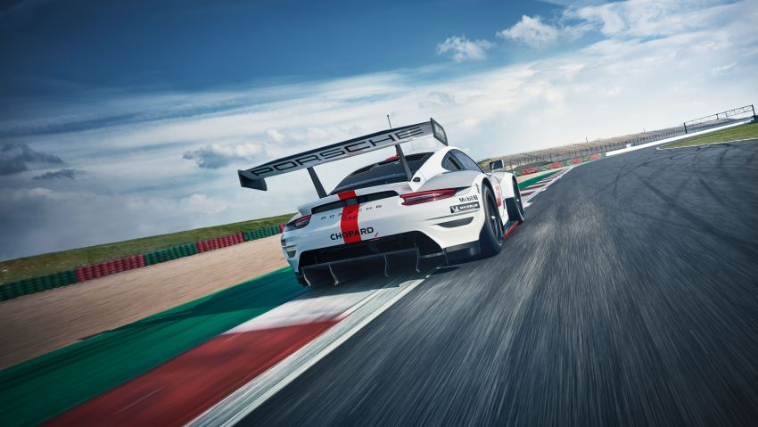 Porsche 911 RSR revised for 2019 – mid-engined GTE race car to defend WEC titles, debuts at Goodwood Image #982997