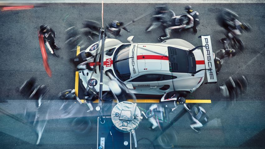 Porsche 911 RSR revised for 2019 – mid-engined GTE race car to defend WEC titles, debuts at Goodwood Image #982998