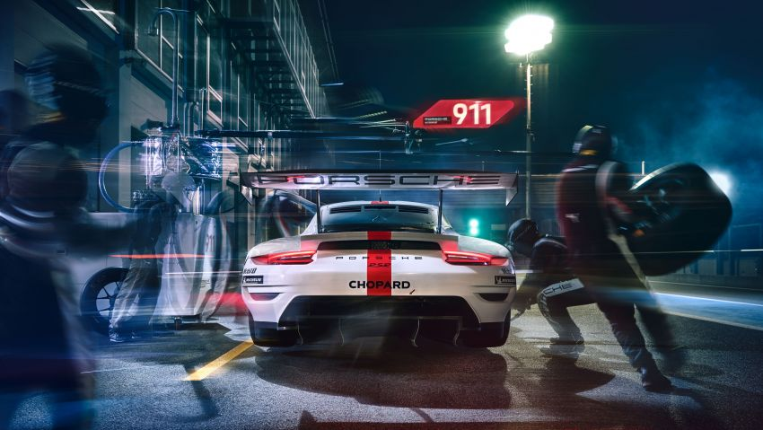 Porsche 911 RSR revised for 2019 – mid-engined GTE race car to defend WEC titles, debuts at Goodwood Image #982999