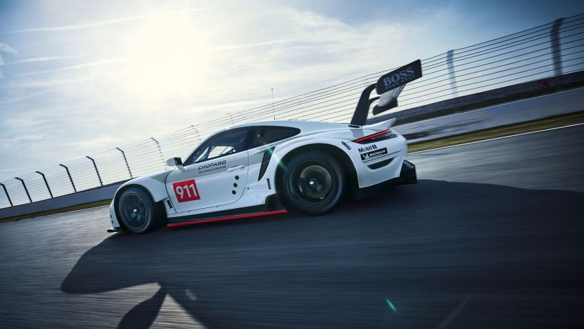 Porsche 911 RSR revised for 2019 – mid-engined GTE race car to defend WEC titles, debuts at Goodwood Image #983001