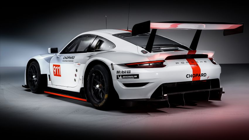 Porsche 911 RSR revised for 2019 – mid-engined GTE race car to defend WEC titles, debuts at Goodwood Image #983002