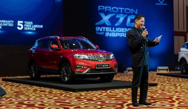 Proton X70 launched in Brunei - pricing from RM98k - Paul Tan's