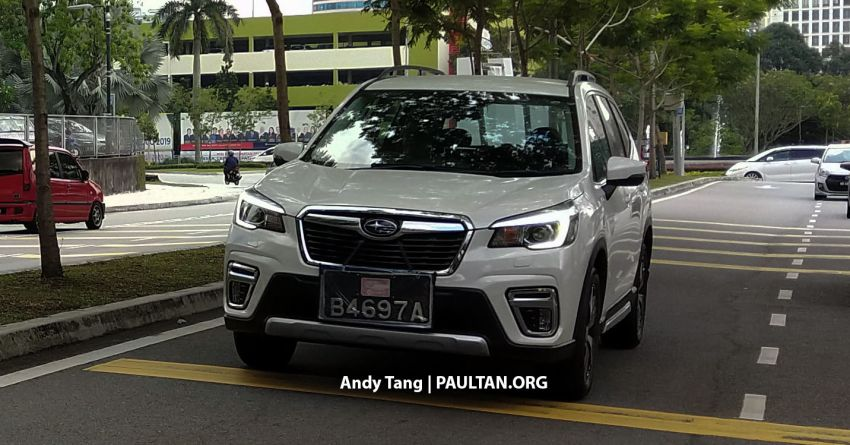 SPYSHOTS: 2019 Subaru Forester spotted in Malaysia – 3 variants; range-topper gets EyeSight at est RM165k Image #992294