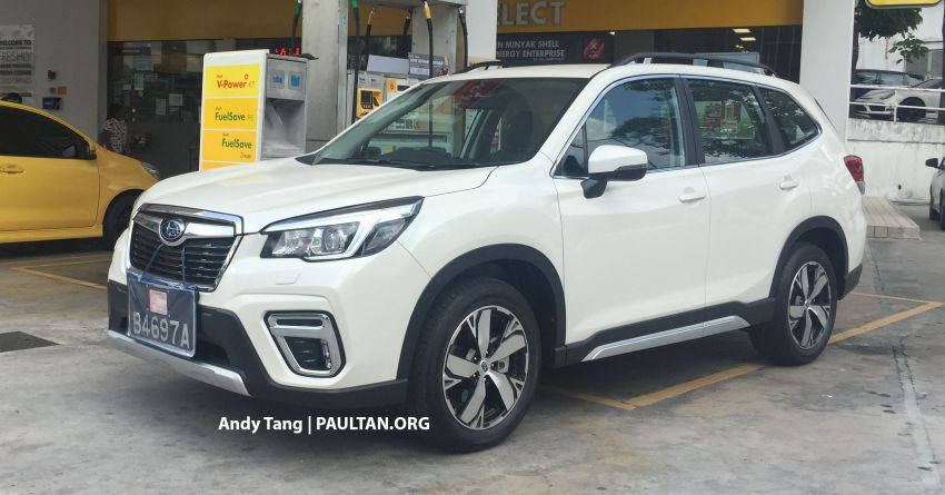 SPYSHOTS: 2019 Subaru Forester spotted in Malaysia – 3 variants; range-topper gets EyeSight at est RM165k Image #992297