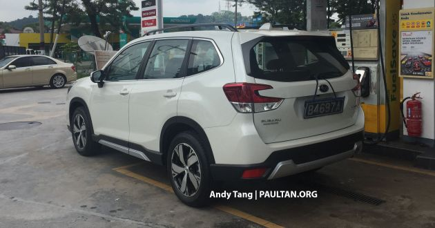SPYSHOTS: 2019 Subaru Forester spotted in Malaysia - 3 variants