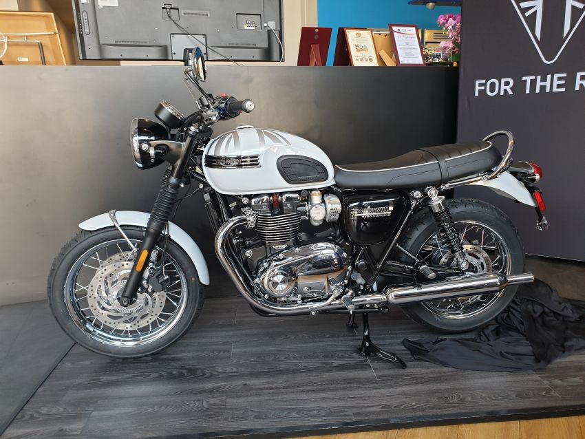 2019 Triumph Bonneville T120 Ace and Diamond Edition in Malaysia – priced from RM74,900 Image #979730