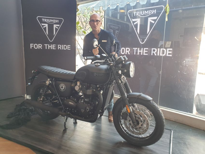 2019 Triumph Bonneville T120 Ace and Diamond Edition in Malaysia – priced from RM74,900 Image #979733