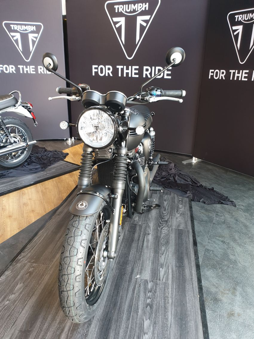 2019 Triumph Bonneville T120 Ace and Diamond Edition in Malaysia – priced from RM74,900 Image #979747
