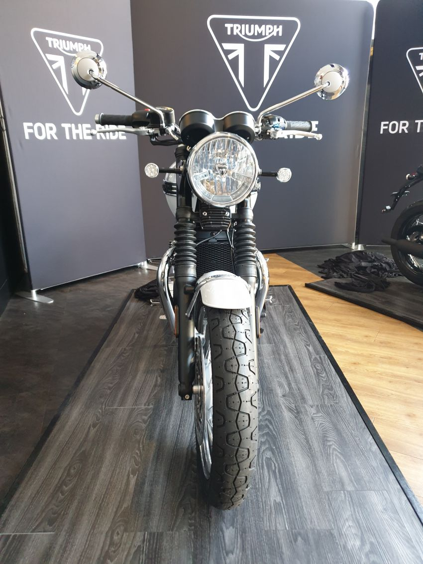 2019 Triumph Bonneville T120 Ace and Diamond Edition in Malaysia – priced from RM74,900 Image #979719
