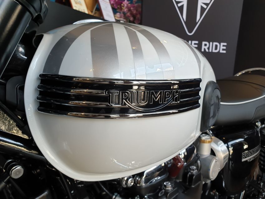 2019 Triumph Bonneville T120 Ace and Diamond Edition in Malaysia – priced from RM74,900 Image #979721