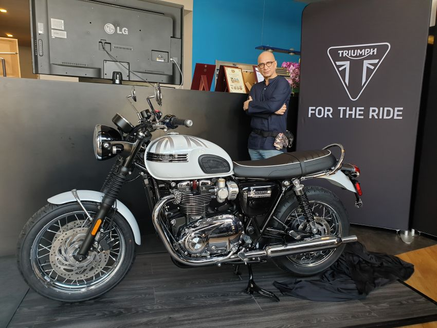 2019 Triumph Bonneville T120 Ace and Diamond Edition in Malaysia – priced from RM74,900 Image #979727