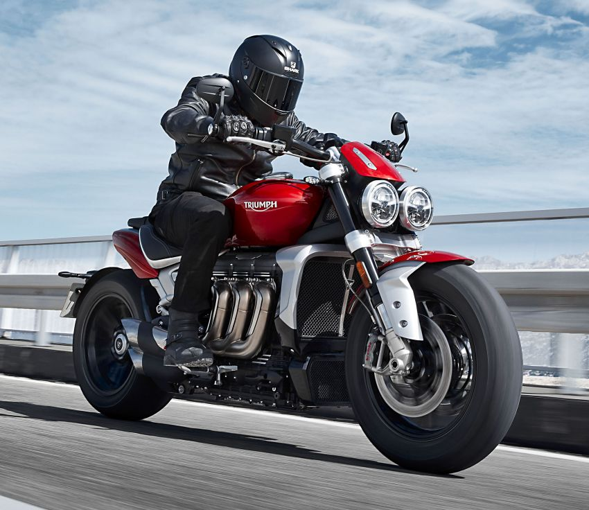 2019 Triumph Rocket 3 R and Rocket 3 GT launched Image #995799