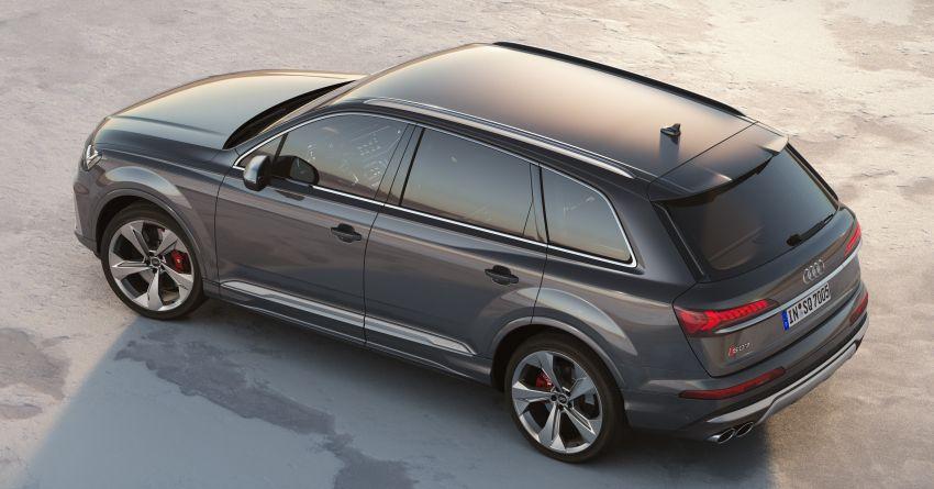 2020 Audi SQ7 TDI debuts – 4.0L V8, 435 hp, 900 Nm! Image #991062