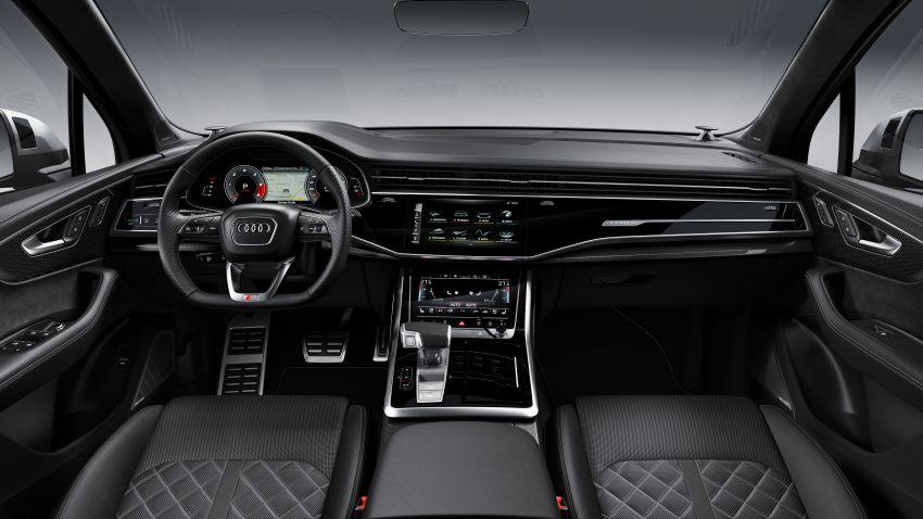 2020 Audi SQ7 TDI debuts – 4.0L V8, 435 hp, 900 Nm! Image #991073