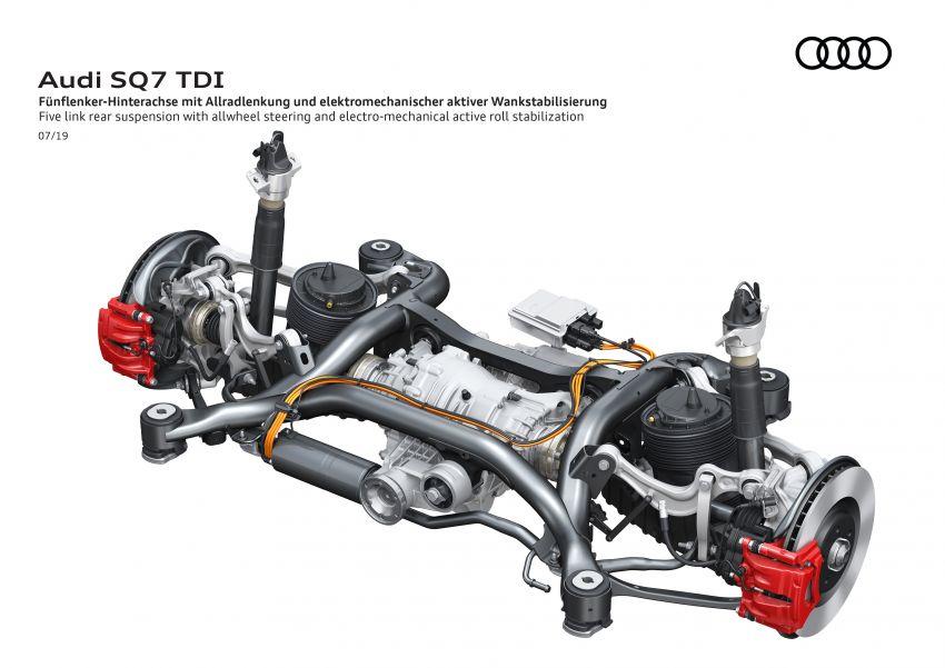 2020 Audi SQ7 TDI debuts – 4.0L V8, 435 hp, 900 Nm! Image #991085