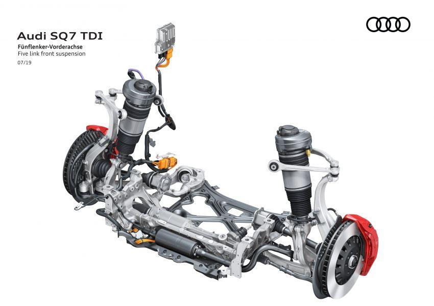 2020 Audi SQ7 TDI debuts – 4.0L V8, 435 hp, 900 Nm! Image #991087