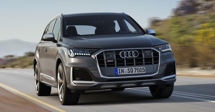 2020 Audi SQ7 TDI debuts – 4.0L V8, 435 hp, 900 Nm! Image #991089
