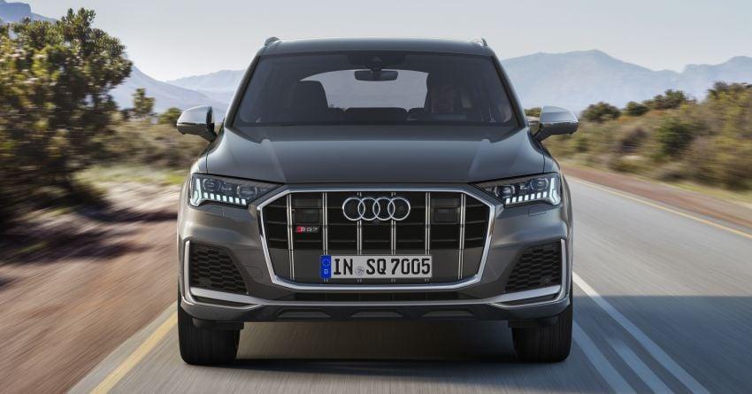 2020 Audi SQ7 TDI debuts – 4.0L V8, 435 hp, 900 Nm! Image #991090