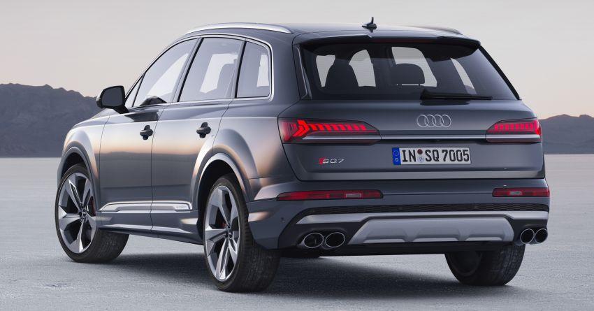 2020 Audi SQ7 TDI debuts – 4.0L V8, 435 hp, 900 Nm! Image #991067