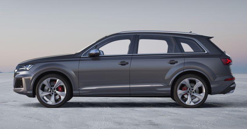 2020 Audi SQ7 TDI debuts – 4.0L V8, 435 hp, 900 Nm! Image #991068