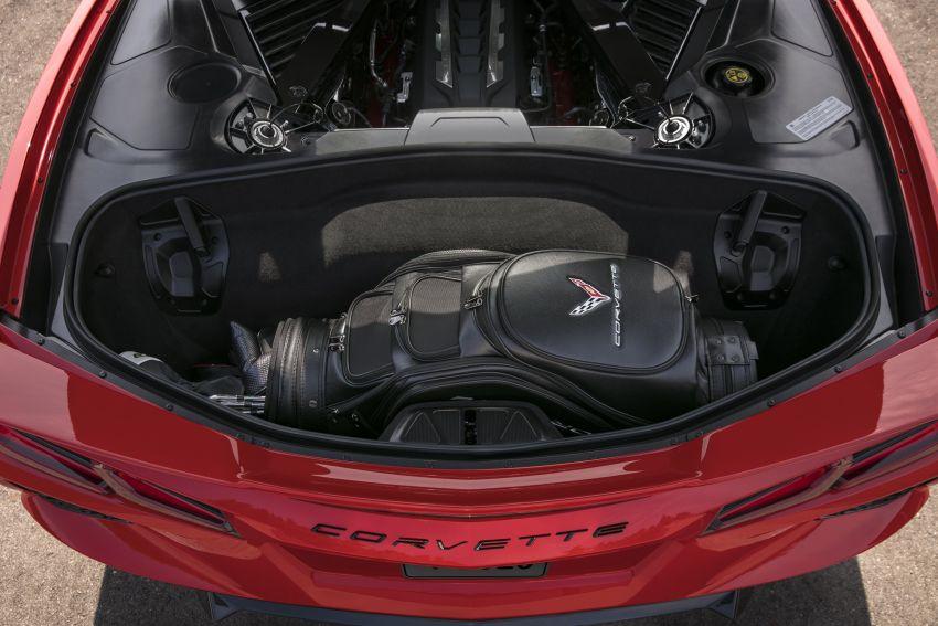 C8 Chevrolet Corvette Stingray goes mid-engined with 495 hp 6.2 litre NA V8, DCT, 0-100 km/h under 3 secs Image #989134