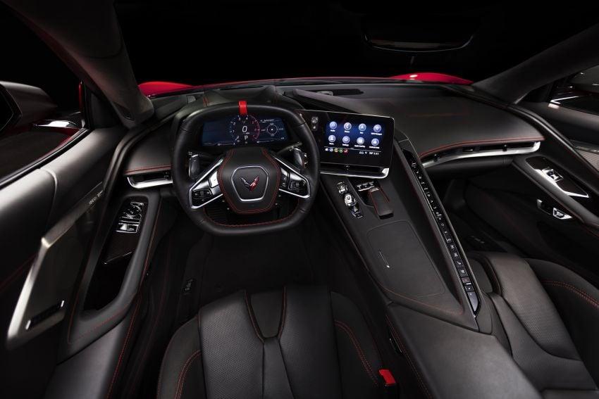 C8 Chevrolet Corvette Stingray goes mid-engined with 495 hp 6.2 litre NA V8, DCT, 0-100 km/h under 3 secs Image #989137