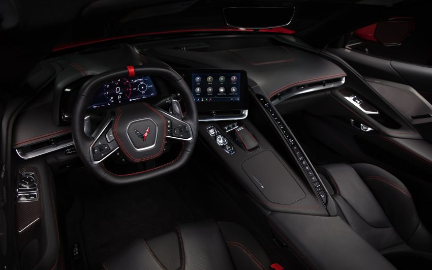 C8 Chevrolet Corvette Stingray goes mid-engined with 495 hp 6.2 litre NA V8, DCT, 0-100 km/h under 3 secs Image #989146