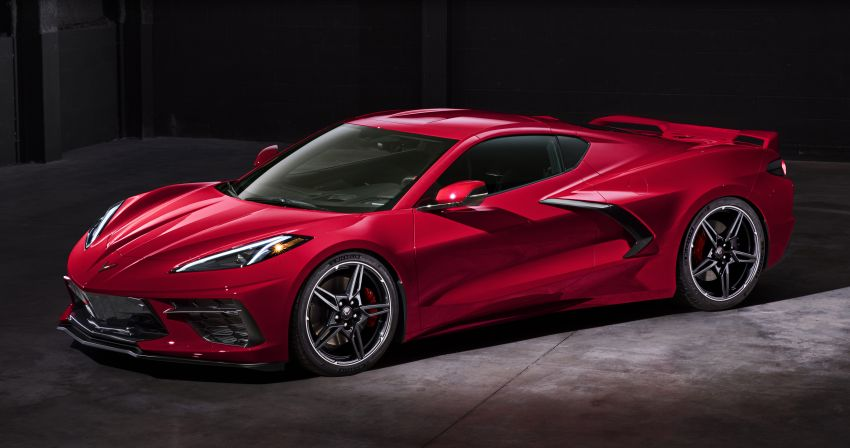 C8 Chevrolet Corvette Stingray goes mid-engined with 495 hp 6.2 litre NA V8, DCT, 0-100 km/h under 3 secs Image #989170