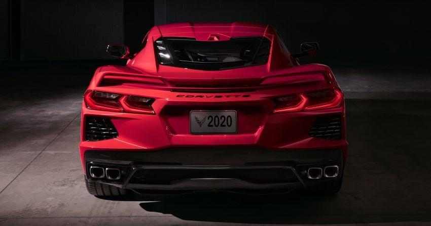 C8 Chevrolet Corvette Stingray goes mid-engined with 495 hp 6.2 litre NA V8, DCT, 0-100 km/h under 3 secs Image #989211