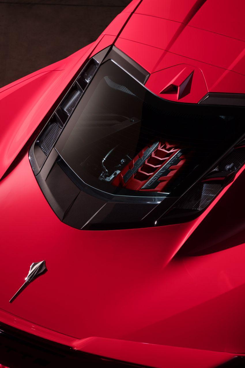 C8 Chevrolet Corvette Stingray goes mid-engined with 495 hp 6.2 litre NA V8, DCT, 0-100 km/h under 3 secs Image #989262