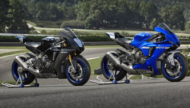 2020 Yamaha YZF-R1 and YZF-R1M revealed