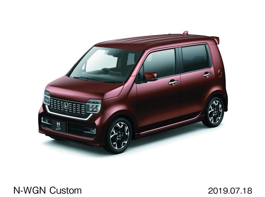 2019 Honda N-WGN: cleaner looks, greater practicality Image #988527