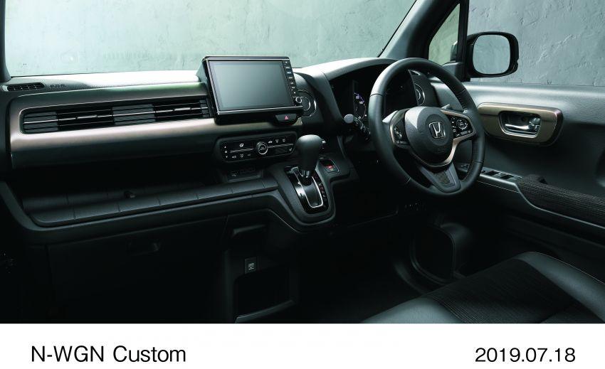 2019 Honda N-WGN: cleaner looks, greater practicality Image #988667