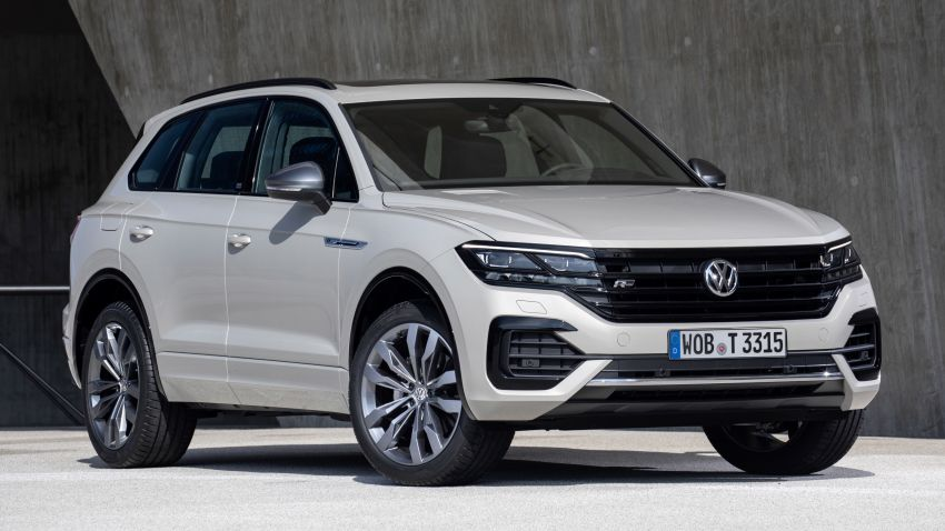 "2019 Volkswagen Touareg ""One Million"" edition debuts Image #992203"