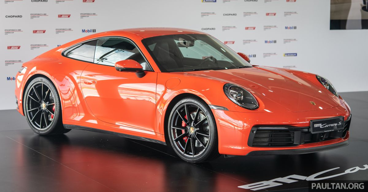 992 Porsche 911 Carrera S Launched In Malaysia From Rm1 15 Million