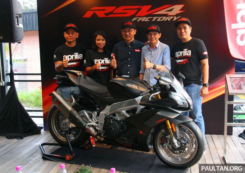 2019 Aprilia RSV4 1100 Factory in M'sia – RM159,900 Image #982438