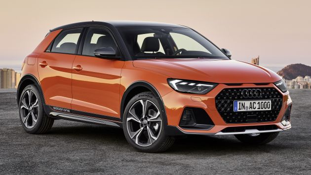 Audi A1 Citycarver Shown Suv Look Raised Ride Height