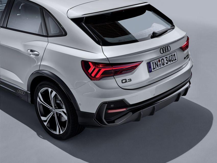 "Audi Q3 Sportback diperkenalkan – pilihan bagi SUV ""coupe"", 2.0L pengecas turbo janaan petrol dan diesel Image #992031"