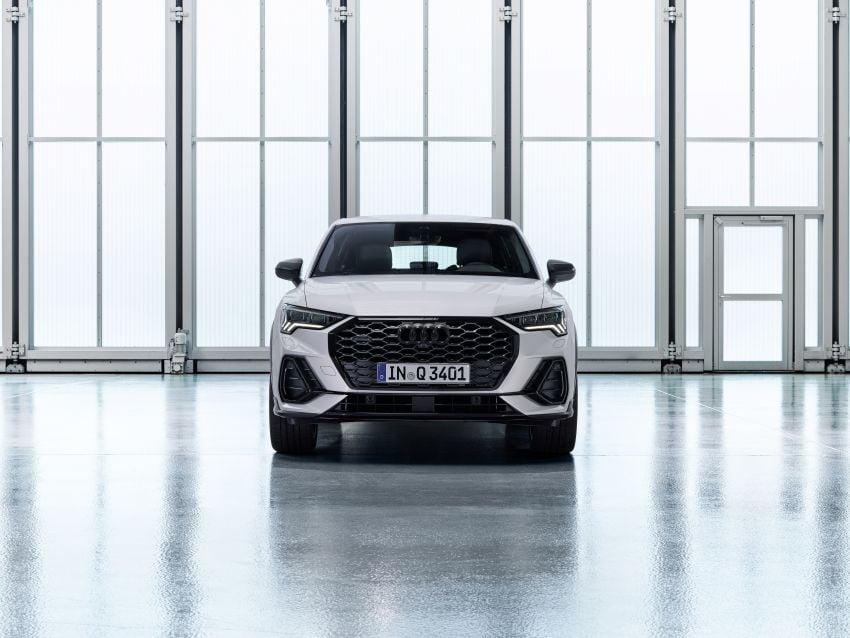 "Audi Q3 Sportback diperkenalkan – pilihan bagi SUV ""coupe"", 2.0L pengecas turbo janaan petrol dan diesel Image #992044"